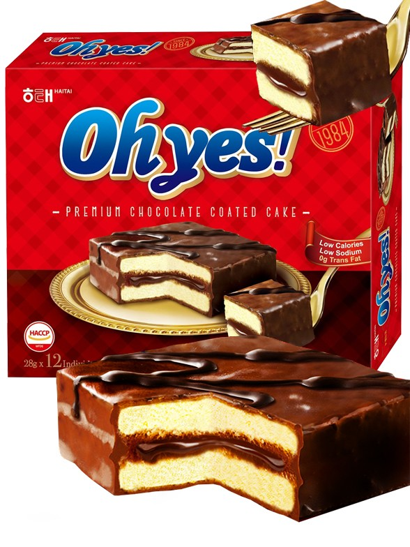 Pasteles Coreanos Choco Cake Winter Oh Yes! | 12 Unidades