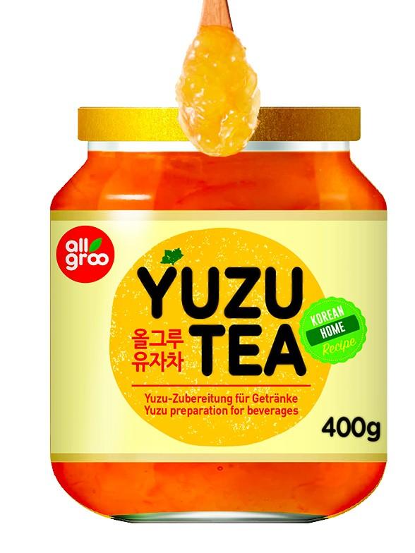 Té Coreano de Mermelada de Yuzu 400 grs