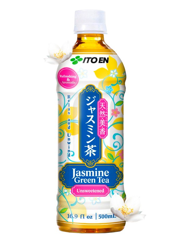 Té Verde de Jazmín Sin Azúcar   500 ml.
