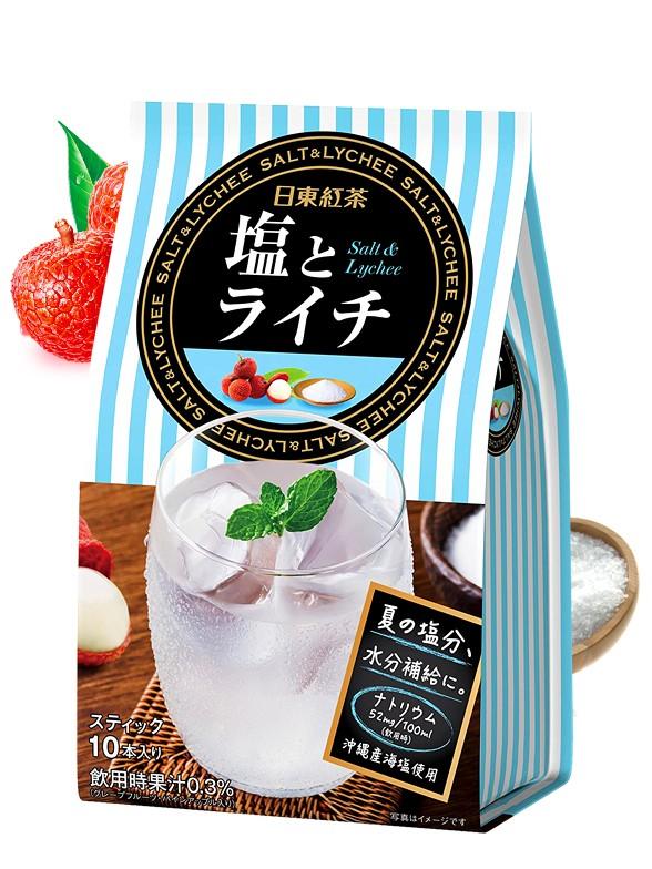 Té Frío de Lichi Salt de Okinawa | 10 dosis