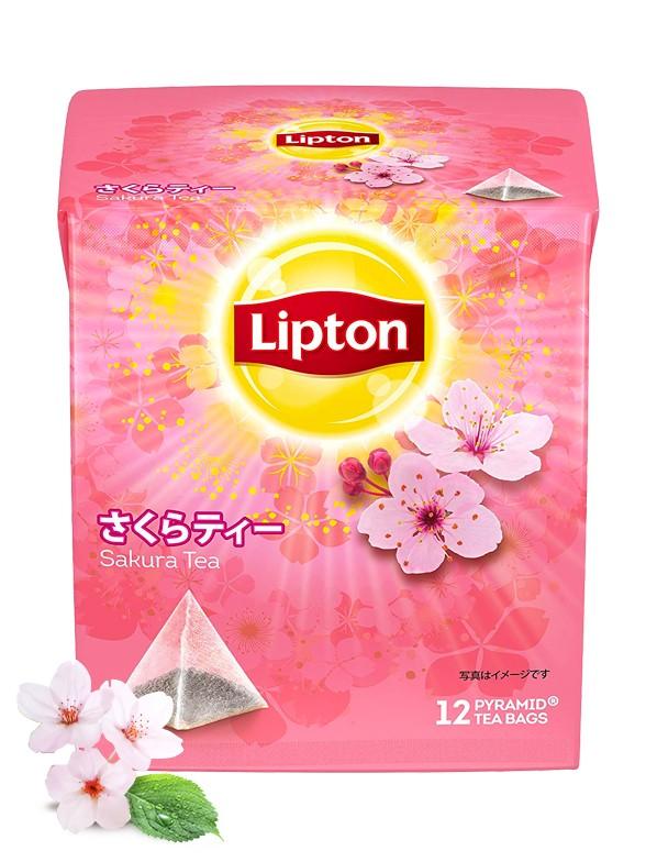 Té Negro Lipton Japan Flores de Cerezo | Sakura