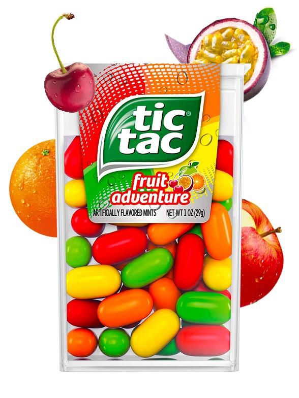 Caramelos Tic Tac Fruit Adventure 100 unidades