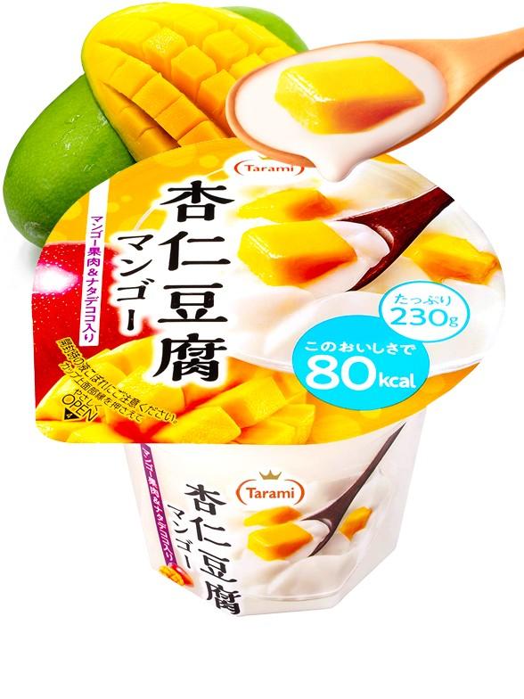 Yogur de Tofu, Mango y Nata de Coco 230 grs