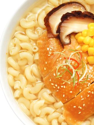 Demae Ramen Sopa Macaroni con Pollo y Sésamo