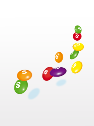 Caramelos Skittles Sabor a Frutas Cubiertos de Yogur | 5 Variedades 35 grs.
