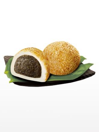 Mochis Daifuku de Crema de Sésamo Negro | Receta Kyoto