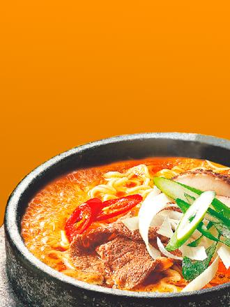 Fideos Ramen Coreano Samyang Ternera | Orange Bag
