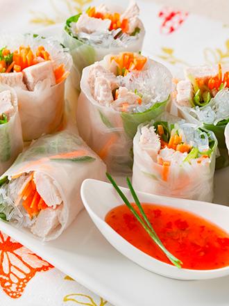 Salsa Tailandesa para Rollitos de Primavera