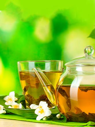 Té Verde con Pétalos de Jazmín | Sin Azúcar
