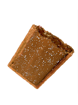 Pop Tarts de Chocolate Fundido y Glaseado de Chocolate