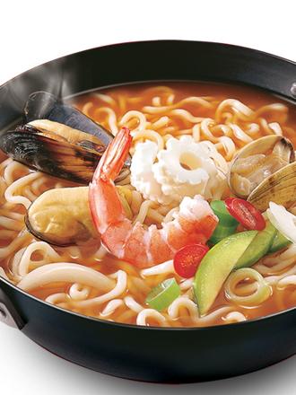 Fideos Ramen Coreanos Seafood Party   Premium