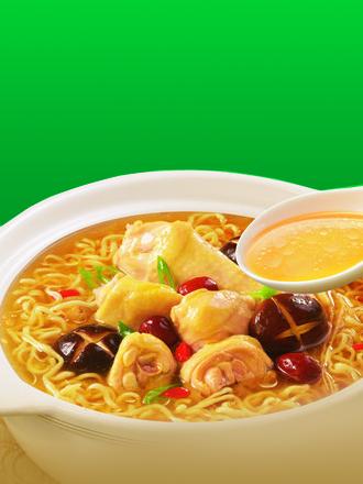Ramen Tailandés de Pollo