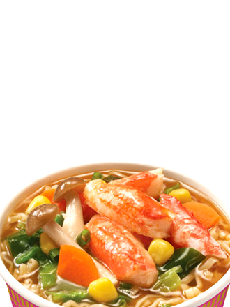 Ramen Nissin Colors Cup Super Toppings | Pink Surimi