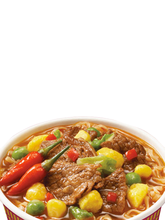 Ramen Nissin Colors Cup Super Toppings | Ternera Spicy