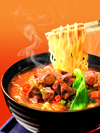 Fideos Ramen con Ternera al Grill | Colossal Taste