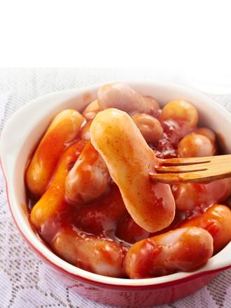 Yopokki | Mochis Coreanos Topokki Instantáneos con Salsa Chajang 120 grs