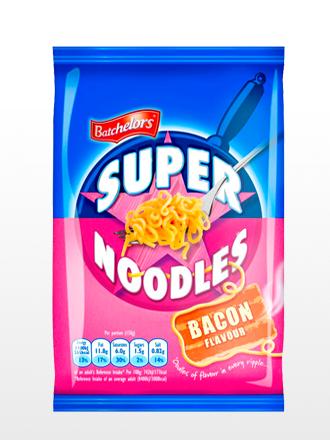 Ramen Salteado con Bacon | Super Noodles