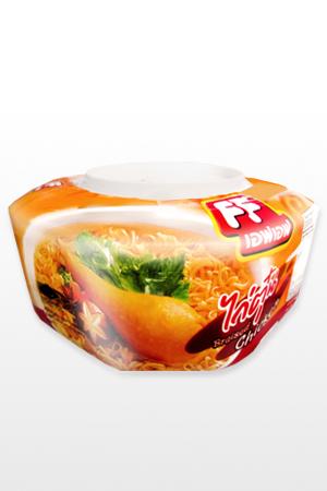 Fideos Ramen Tailandeses con Pollo Asado | Edición Picnic Bowl