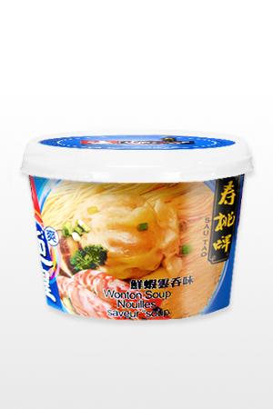 Fideos Ramen con Sopa de Wontow al Estilo de Hong Kong