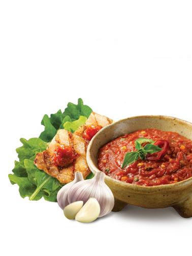 Salsa Coreana de Pasta Guindilla, Ajo y Cebolla para Carne 450 grs
