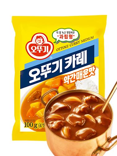 Curry Coreano   Medio Picante