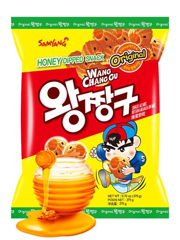 Snack Coreano de Cookies de Canela y Miel 115 grs