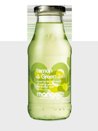 Bebida de Té Verde, Manzana y Limón