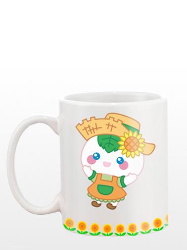 "Mug ""JaponShop Mochi San Sun Flowers"" Edición Farm"