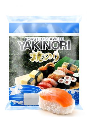 Alga Nori Esmeralda para Sushi de Gran Calidad 25 grs. | 10 hojas