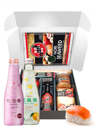 Sushi Kit Box Maker y Sake