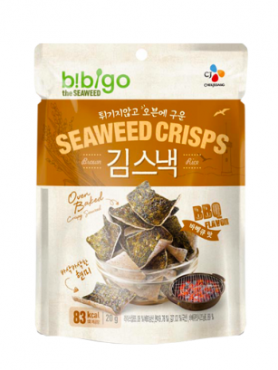 Snack Chips de Algas y Arroz Integral | Sabor BBQ