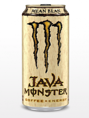 Bebida Energética con Café Monster Java Mean Bean | USA 443 ml.