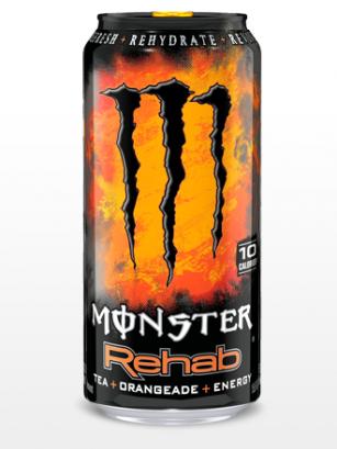 Monster Energy Ice Tea Rehab Orangeade | USA 458 ml.