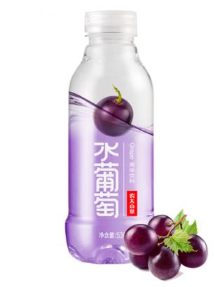 Agua Sabor Uva | Edición Clear 500ml