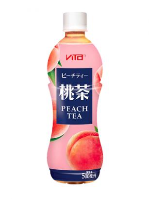 Té Rojo y Melocotón Rosado 500 ml