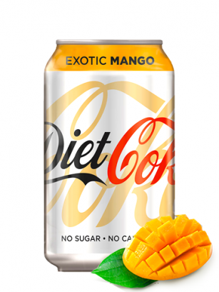 Coca Cola DIET Exotic Mango 330 ml