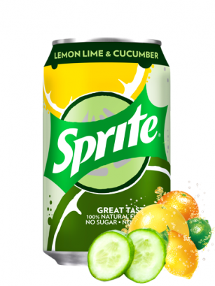 Sprite ZERO de Lima Limón y Pepino 330 ml