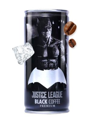 Café Negro Intenso | La Liga de la Justicia | Batman 210 ml | Pedido GRATIS!