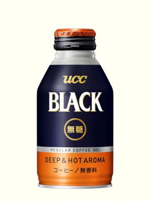 Café Black Deep & Hot aroma | The Coffe | UCC 260 ml