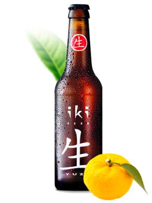 Cerveza Japonesa iKI Matcha Yuzu 330 cl