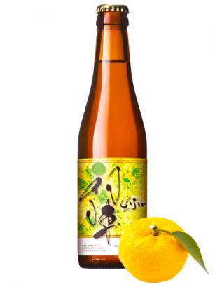 Cerveza Japonesa Uijin Yuzu Blond 330 cl
