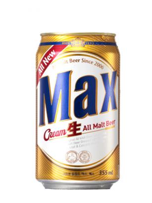 Cerveza Coreana MAX Cream 355 ml | Pedido GRATIS!