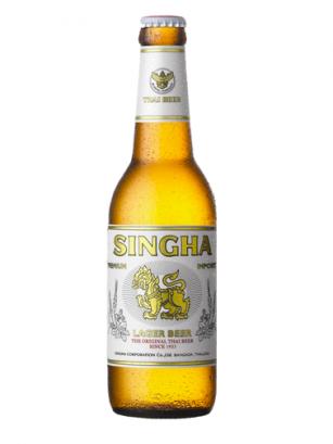 Cerveza Tailandesa Singha Premium Golden