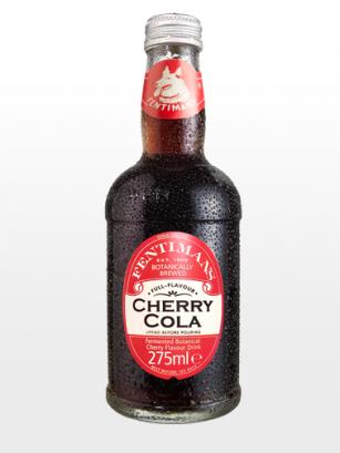 Refresco de Cola con Cerezas de Jardín | Receta Victoriana | Cherry Cola