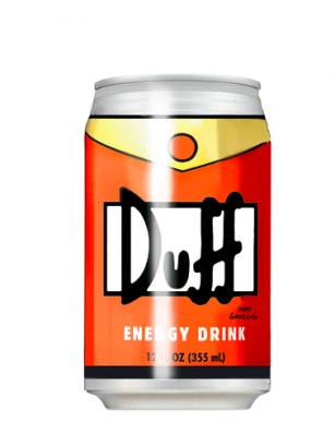 Bebida Energetica Duff Sabor Naranja 355 ml