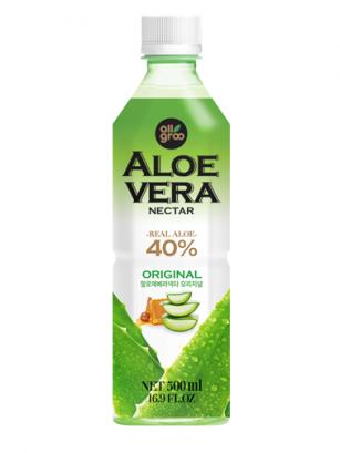 Bebida de Néctar de Aloe Vera y Miel