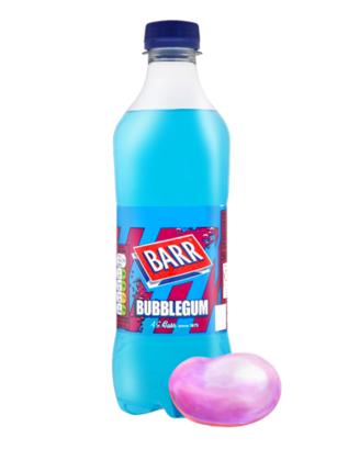 Soda Barr Bubblegum | Sabor Chicle 500 ml