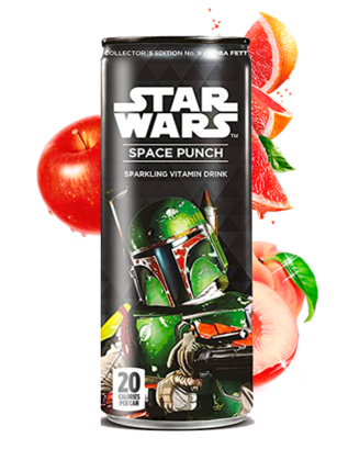 Soda Star Wars Space Punch Boba Fett | Edición Coleccionista 355 ml