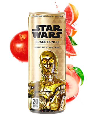 Soda Star Wars Space Punch C-3PO | Edición Coleccionista 355 ml