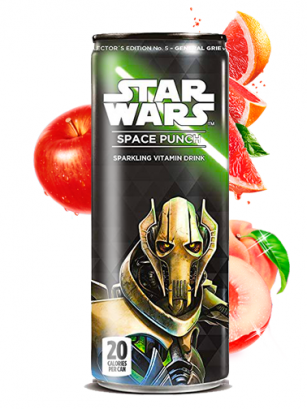 Soda Star Wars Space Punch Grievous | Edición Coleccionista 355 ml